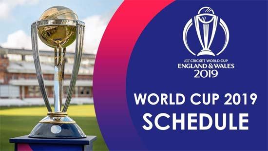 icc world cup 2019 fixtures
