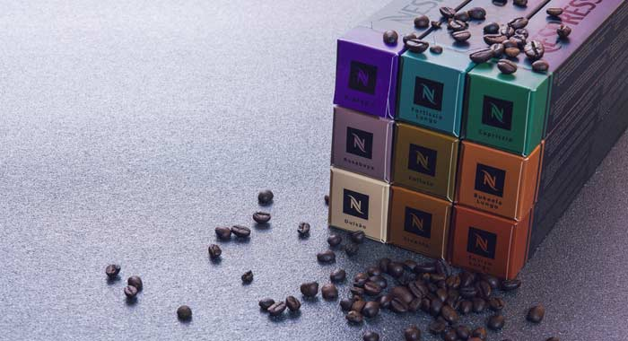 different categories Caffeine In Nespresso