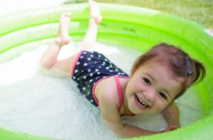 How to keep inflatable pool water clean