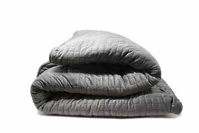 What are simple ways to wash a weighted blanket